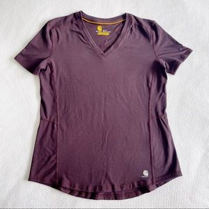 CARHARTT Women's Slightly Fitted Force® Ferndale T-Shirt - Small 4-6
